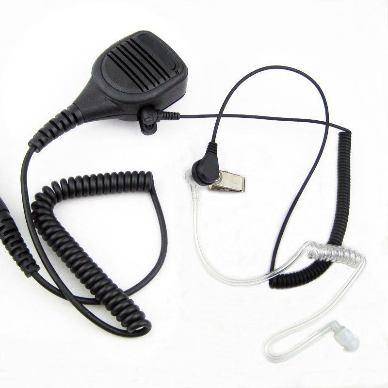 Heavy Duty Speaker Microphone Mic PTT IP54 Waterproof For Kenwood Baofeng HYT Hytera Two Way Radio UV-5R TK-3302 GT-3 BF888S