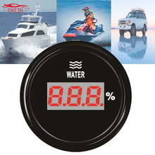 52mm Universal Digital Waterproof Water Level Gauges 9-32v 0-190ohm Meters with Backlight for Car Ship Motor Home