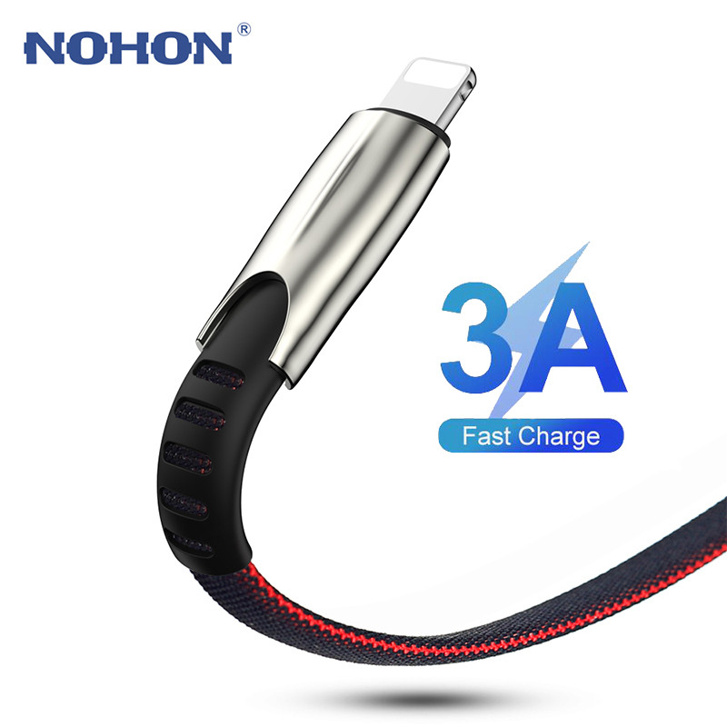 1M 2M <font><b>3M</b></font> <font><b>USB</b></font> <font><b>Cable</b></font> for iPhone 11 XR Xs Max 5 5S 6 S 6s 7 8 Plus iPad Fast Charging <font><b>Cable</b></font> Origin Phone Long <font><b>USB</b></font> Data Charger Wire image