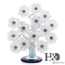 H & D Türkische Feng Shui Glück Bösen blick Blume Baum Für Schutz Reichtum Und Leistung Gute Luck Weihnachten Geschenk wohnkultur Harz