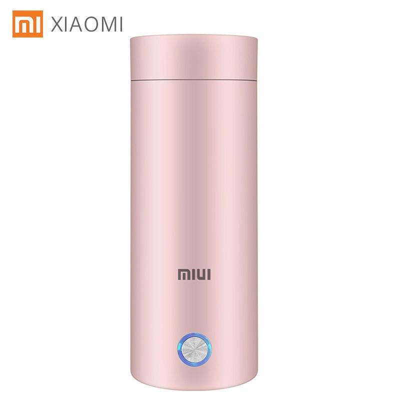 XIAOMI miui Портативный электрический чайник Термочашка кофе путешествия водонагреватель контроль температуры умный чайник для воды 1