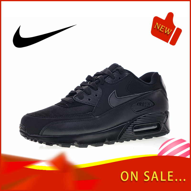 Original Authentic Nike Air Max 90 Men's Running Shoes Outdoor Breathable Sports Shoes Breathable 2018 New Listing 537384-090