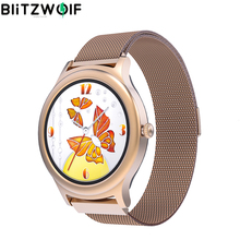BlitzWolf BW AH1 Womens Smartwatch Heart Rate Female Physiological Cycle Reminder Woman Smart Watch Customize Dial Smartwatches