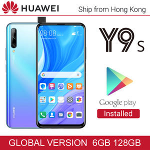 Global Version Huawei Y9s 6GB 128GB Mobile Phone 48MP Camera Side Fingerprint 4000mAh SmartPhone Battery 6.59 inches