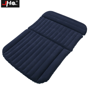 Image 5 - JHO SUV Car Inflatable Mattress Flocking Travel Air Bed With Air Pump Universal Auto Portable Outdoor Camping Moisture proof Pad