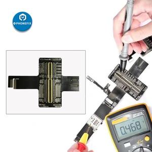 Image 5 - QIANLI iBridge FPC מבחן כבל עבור iPhone 6/6P/6S/6SP/7/7P/8/8P/X האם PCB בדיקת תקלה קדמי אחורי מצלמה טביעות אצבע
