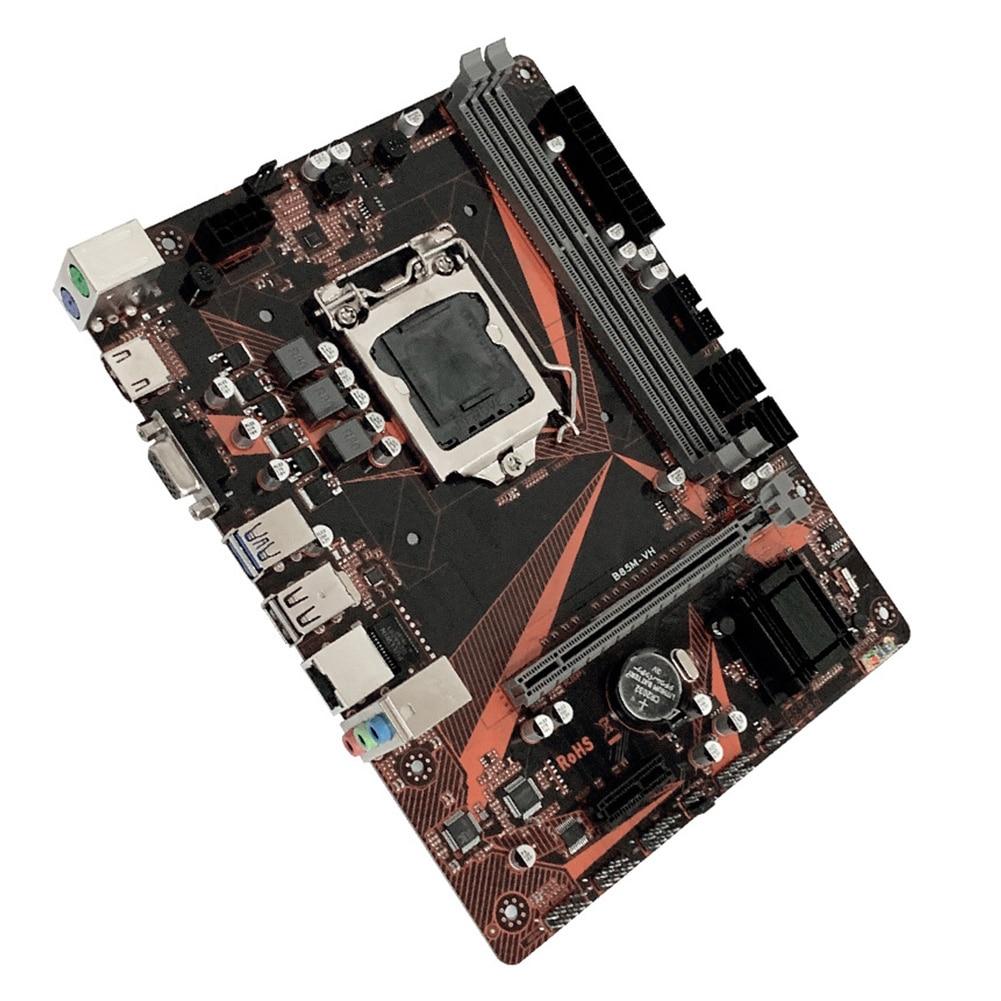 B85M-VH double canal haute vitesse PCI-e accessoires USB 3.0 ordinateur de jeu de bureau LGA 1150 HDMI carte mère de bureau 16G DDR3