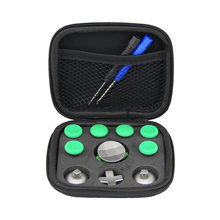Wireless Handle Thumbstick Gamepad Parts Metal Button Set Storage Bag Full Tool Game Controller Replacement One Elite(China)