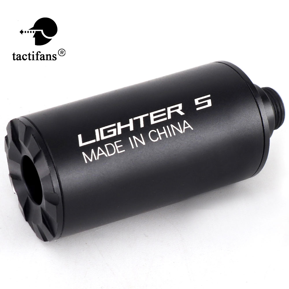Airsoft Lighter S BB Auto Tracer Unit Flash Barrel Decorator For 10MM 14MM Automatic Rifle Pistol Shooting Paintball Accessories