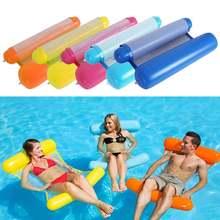 Новинка летние надувные матрасы с плавающими рядами для бассейна