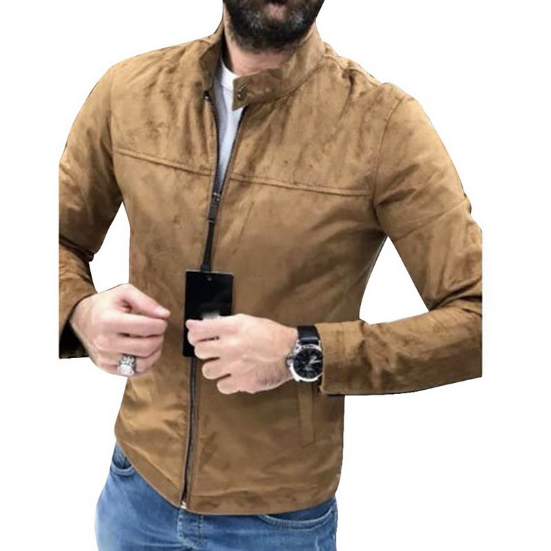 Men's Coat Spring And Autumn 2019 New Korean Version Hundred Breathable On Clothes Trend Slimming Sports Jacket Thin
