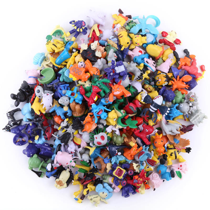 2.5cm-3cm Takara Tomy Pokemon Pikachu 192 Different Styles 24 Pieces /bag New Collection Dolls Action Toy Pks Figures Model