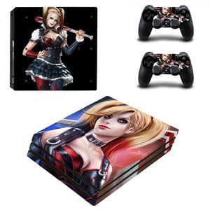 Image 5 - Tự Sát Đội Hình Harley Quinn PS4 Pro Miếng Dán Play Station 4 Miếng Dán Skin Decal Cho Máy Chơi Game PlayStation 4 PS4 Pro Tay Cầm & bộ Điều Khiển Da
