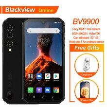"Blackview móvil BV9900, 8GB + 5,84 ""FHD, Helio P90 Octa Core, 256GB, teléfono móvil resistente al agua IP68, cámara cuádruple trasera de 48MP"