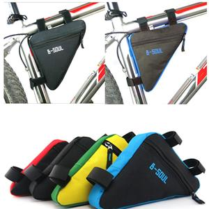 Водонепроницаемая треугольная велосипедная сумка, велосипедная сумка, велосипедная Передняя труба, сумка, держатель седла, MTB, горный велос...
