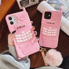 Bonito rosa amor coração do miúdo menina presente caso de telefone para huawei honra 30s lite 9xp nova 7 6 5 pro v10 p20 desfrutar 10e macio silicone cove