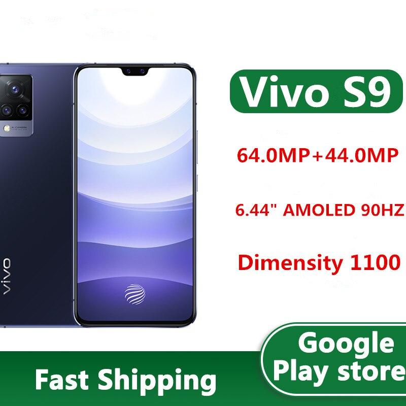 В наличии Vivo S9 5G мобильный телефон 64.0MP 5 камер Android 11,0 6,44