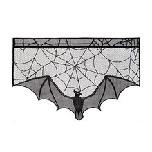 Halloween Decorations Fireplace Decoration Lace Cloth Spider Fabric