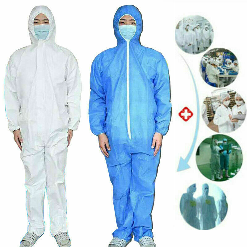 Hazmat Surgical Disposable Protective Overall Hazmat Suit Protection Clothing Safety
