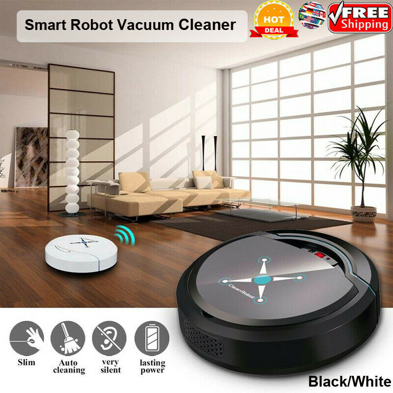 2020 Hot Vacuum Cleaning Auto Robot Smart Sweeping Robot Floor Dirt Dust Hair Automatic Cleaner For Home Electric Rechargeable