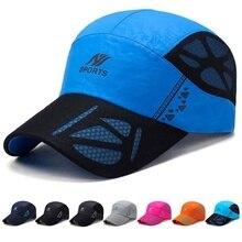 Unisex Running Hats Outdoor Sport Hat Running Visor Cap Breathable Sport Caps