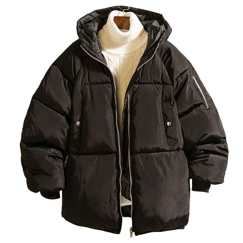BOATTAIL 2019 Winter Jacket Men Warm Coat Male Windproof Hooded Jackets Chaqueta Hombre Invierno Outwear Casual Overcoat