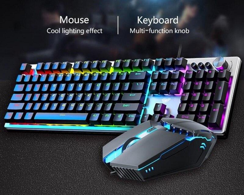 teclado jogo conjunto para computador desktop notebook mac