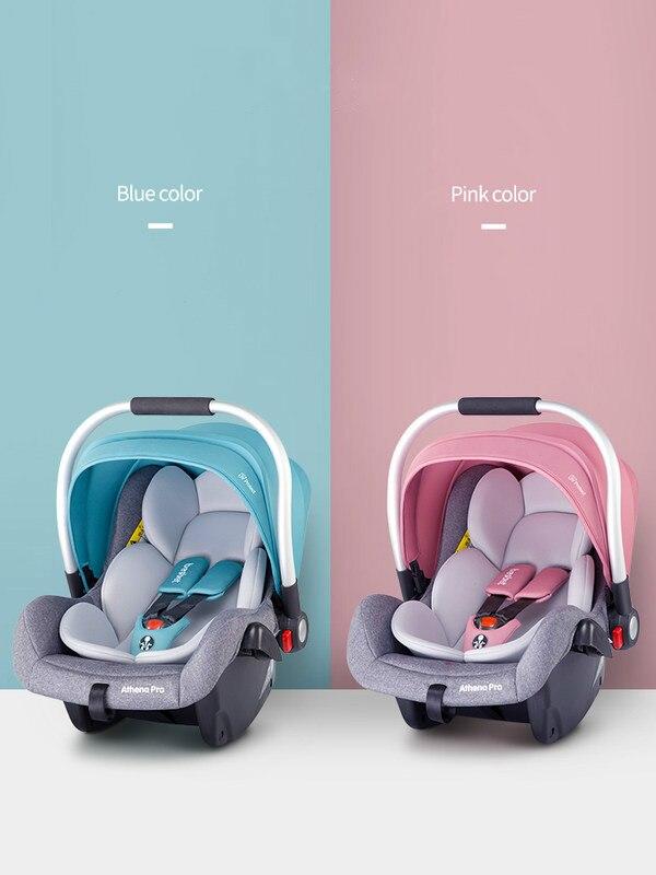 Besbet Baby Basket Safety Seat Newborn Car Portable Baby Cradle Sleeping Basket