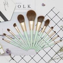 CHUYAN Plant Makeup brushes KIt set for foundation Powder Blush Eyeshadow Cosmetcis Lip Blending Women Smooth Beauty Tools