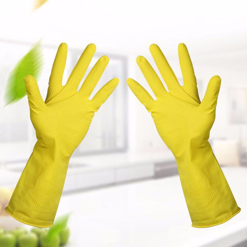Кухонные перчатки для мытья рук, водостойкие резиновые перчатки для мытья дома, силиконовые перчатки с длинным рукавом, инструменты для чистки|Бытовые перчатки|   | АлиЭкспресс