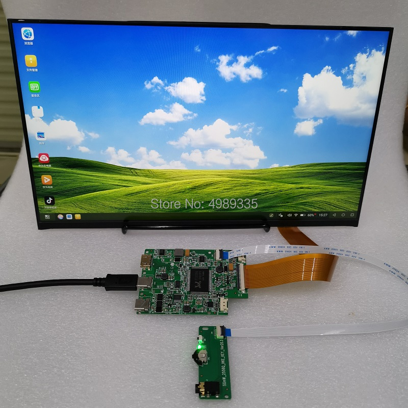 13.3 Inch Capacitive Touch Module Display Kit Module TYPE-C Screen Display HDMI TYPE-C Interface 5V Power Solution