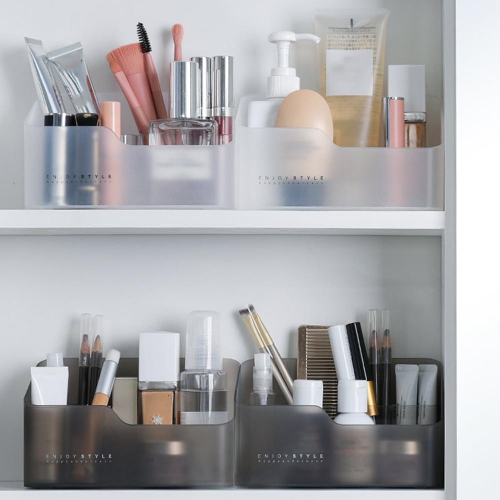 Cosmetic Lipstick Storage Box Makeup Sundries Jewelry Case Office Desk Organizer Organize Jewelry Wrist Watch Other Cosmetics