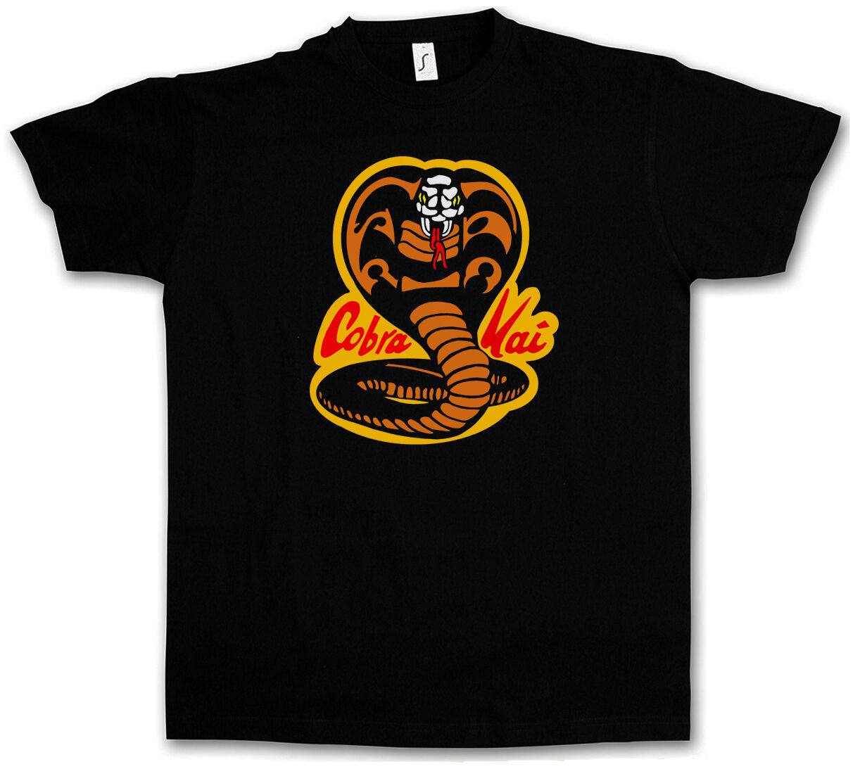 COBRA-KAI DOJO T-SHIRT - Karate Kid Movie Retro Martial Arts Shirt image