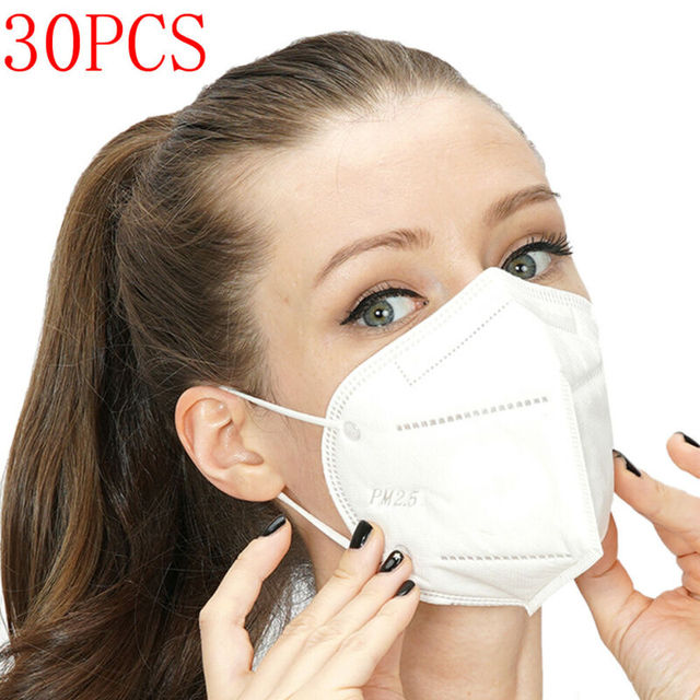 Non-woven Protective Face Mask Anti-flu Anti-dust Standard Proof Safety Shield Fast Shipping 1