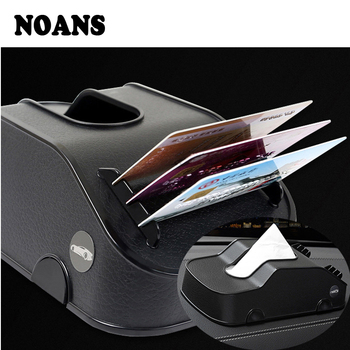 NOANS Car Model Tissue Box Multifunction Phone Holder Cards Clip Box For BMW E36 F30 F10 E30 M X5 Ssangyong Volvo XC90 V70 XC60 image