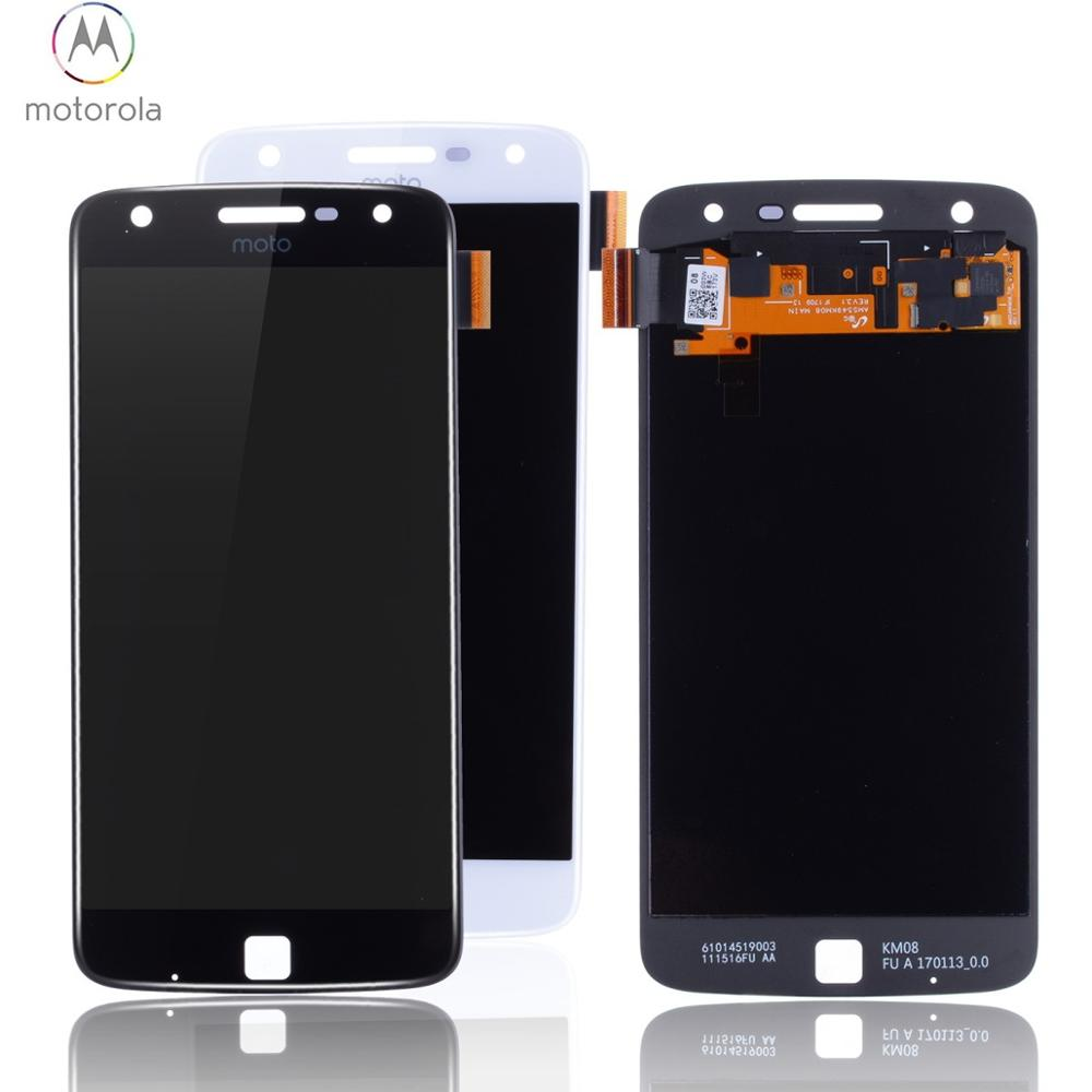 Original AMOLED OLED Display For Moto Z Play Display <font><b>LCD</b></font> Touch Screen For Motorola Moto Z Play Replacement <font><b>XT1635</b></font> <font><b>XT1635</b></font>-02 image