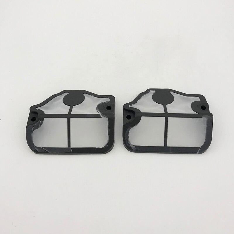 2Pcs/lot Nylon Air Filter Covers For HUSQVARNA 142 137 E 136 141 LE 41 36 Petrol Chainsaw Replace OEM 530 02 98-11, 530029811