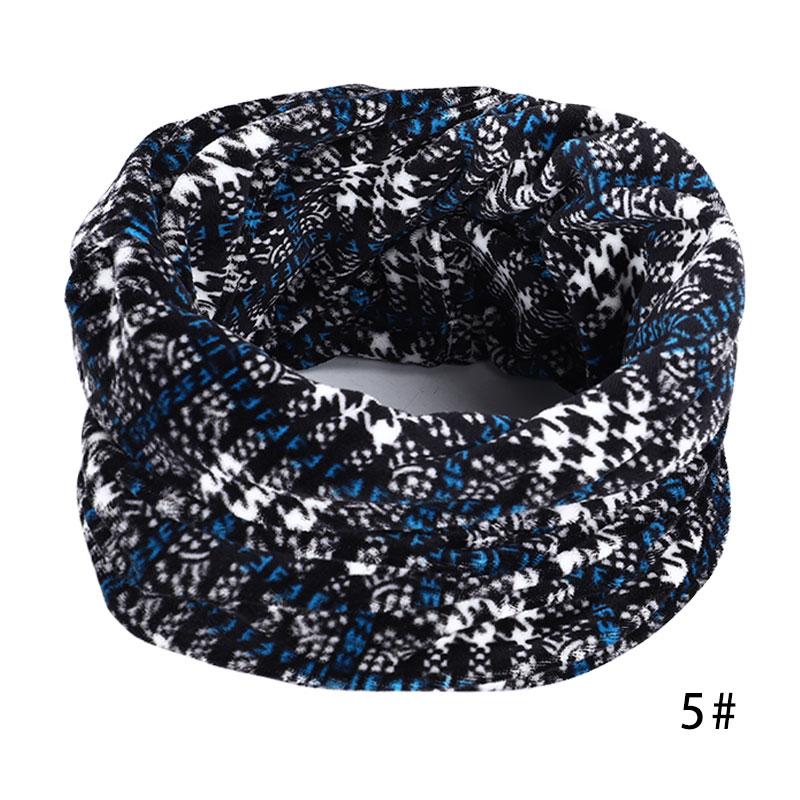 Новинка, осенне-зимний женский шарф с принтом для женщин, модный бархатный тканевый шарф, мягкий удобный женский винтажный шарф - Цвет: 5