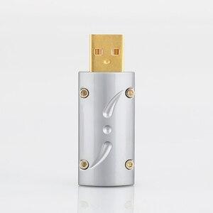 Image 3 - ויבורג HI END 24K זהב מצופה USB2.0 תקע USB, USB B מחבר DIY Hi Fi כבל USB
