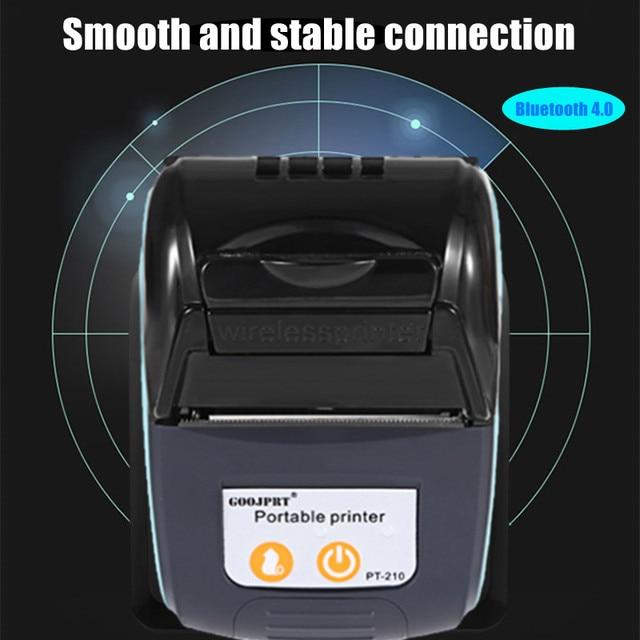 58mm Bluetooth Pocket Portable Thermal Receipt Printer Mini Wireless Notes Phone Printer Android IOS PC Free APP Bill Impresoras 4