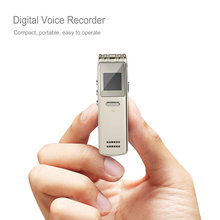 Mini Rechargeable Digital Voice Recorder Recording Pen MP3/ WMA /WAV Dictaphone Display Screen Three Modes