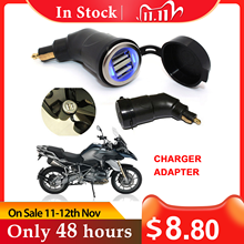 Cigarette Charger Dual USB Phone MP4 GPS Tablet For BMW R1200GS R1200RT F800 GS F800GS F650GS F700GS F650 GS R 1200 RT ADV