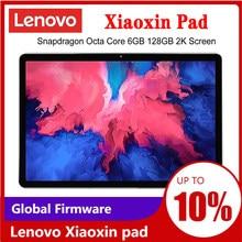 Tela lcd da polegada 2k da almofada 11 de lenovo xiaoxin do firmware global snapdragon octa núcleo 4gb/6gb ram 64gb/28gb rom tablet android 10