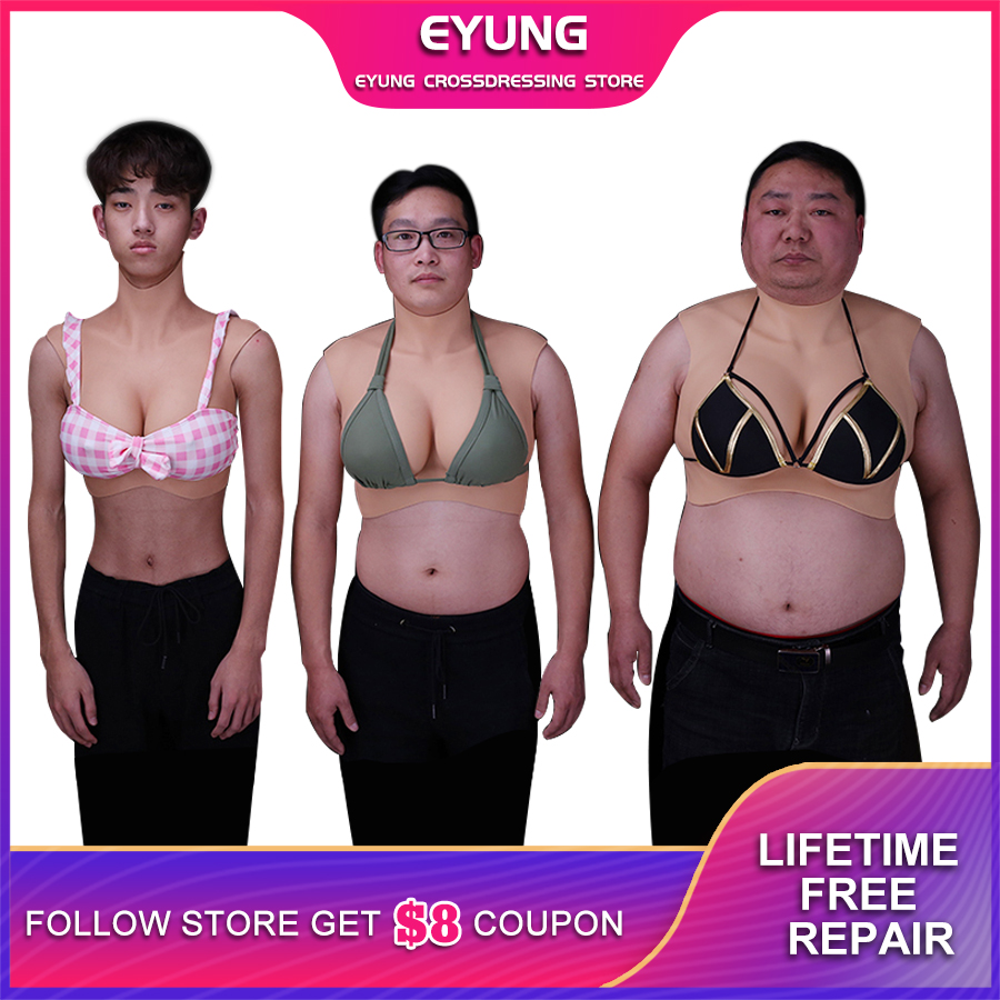 Top Technology Fake Boobs Artificial Silicone Breast Forms For Shemale Trandsgender Crossdresser Drag Queen Cosplay Meme