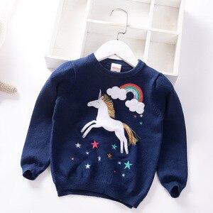 Image 5 - เด็กใหม่เสื้อกันหนาวนุ่มการ์ตูนเสื้อกันหนาวสำหรับสาวแฟชั่นSequinsเด็กถักเสื้อผ้าเด็กBoy & Girlจัมเปอร์3 7 Y