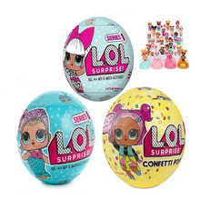 LoL Surprise Egg Remove The Ball Original LOL Dolls Action Figure Kids Toys Children Christmas Gifts