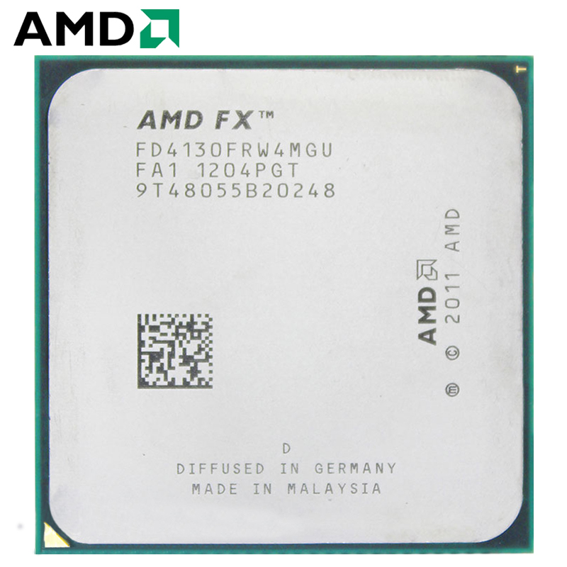 AMD FX-Series FX 4130 FX-4130 3.8 GHz Quad-Core 3.8GHz CPU Processor Desktop FD4130FRW4MGU 125W Socket AM3+