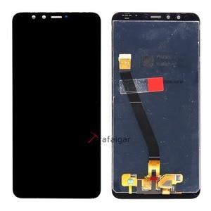 Image 2 - Trafalgar display para huawei y9 2018 lcd tela de toque digitador assembléia com moldura para huawei y9 2018 lcd FLA LX1 lx3