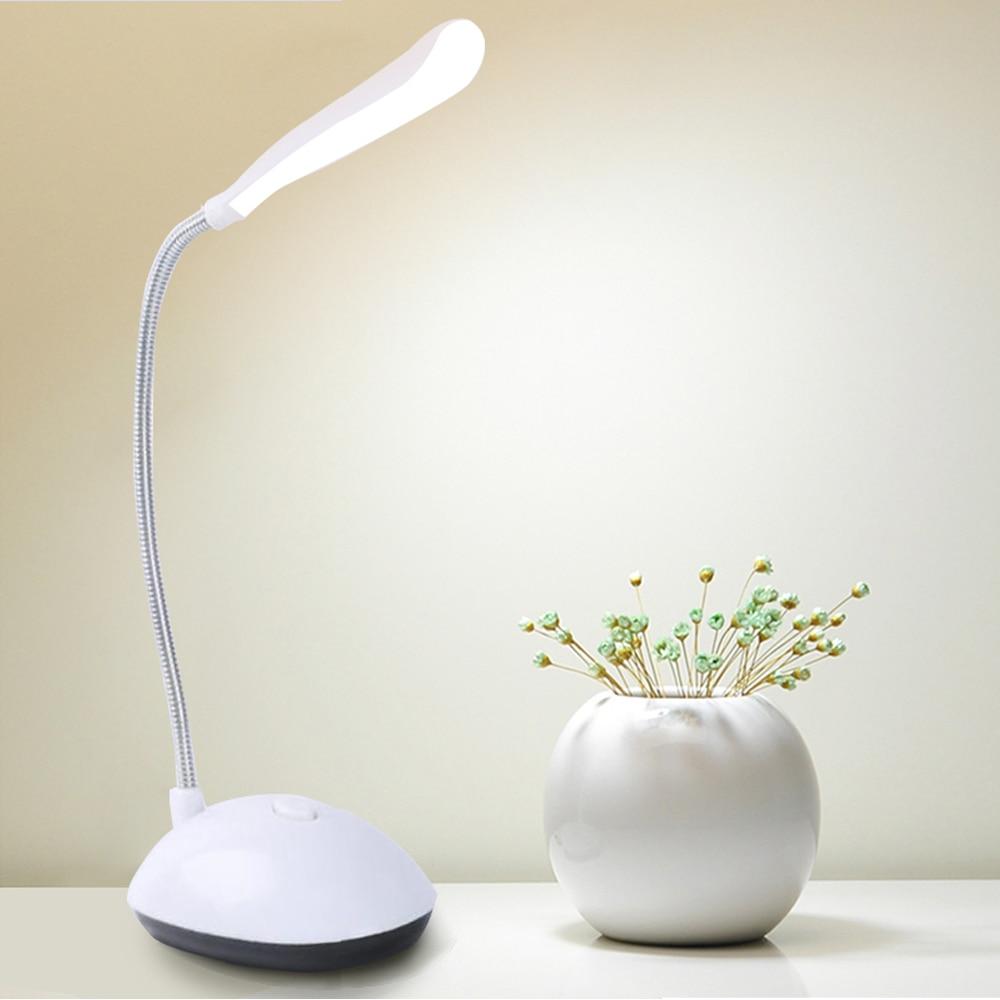 Настольная лампа для учебы, светодиодный светильник с питанием от 3 батареек AA, не входит в комплект 1