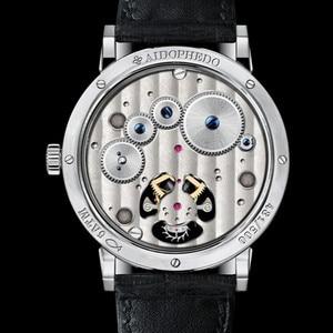 Image 5 - סופר BGW9 זוהר ידיים Tourbillon גברים שעון מקורי ST8001 לוח שנה ירח שלב Tourbillon גברים של שעונים מכאניים תנין